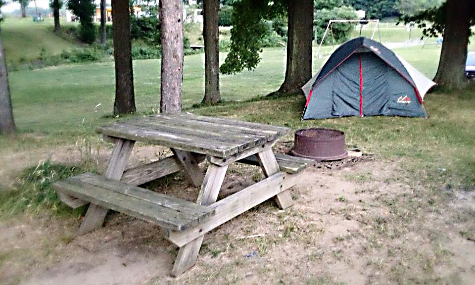 Tent Camping at Pine Lane Campground