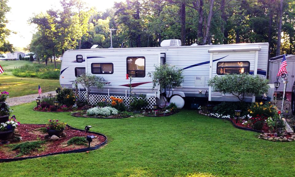 RV Camper at Pine Lane Campground