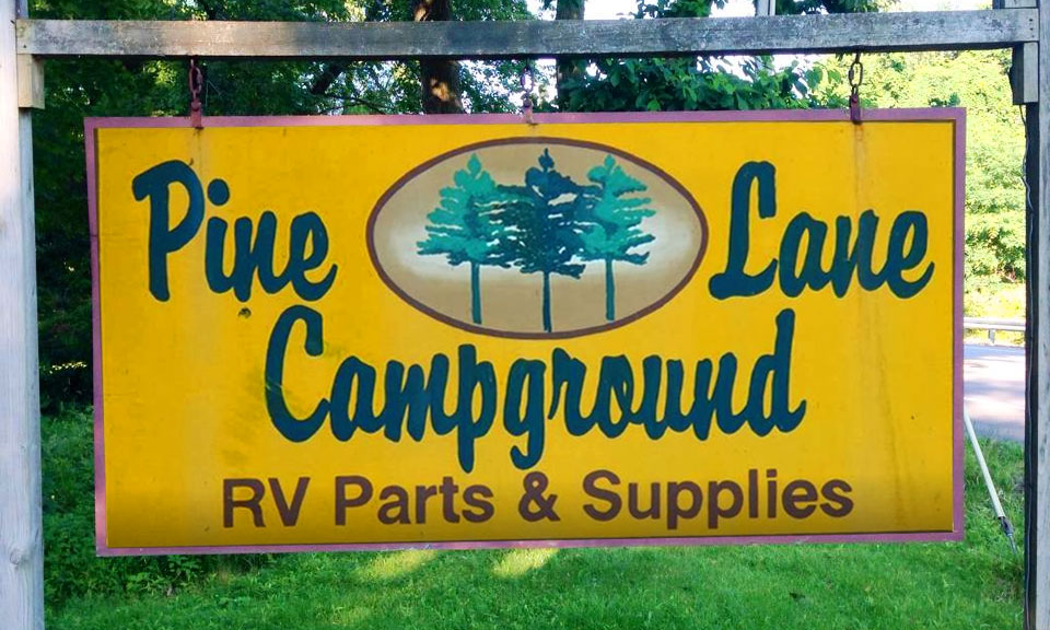 RV Camping Parts and Supplies at Pine Lane Campground